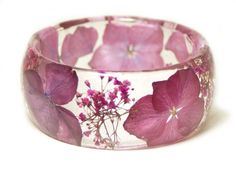 jewelry made with real flowers pink flower jewelry resin jewelry