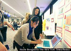 How Teaching Girls To Code Is Changing The World - http://www.huffingtonpost.com/2013/10/09/girls-who-code-reshma-saujani_n_4032656.html?utm_hp_ref=women-in-tech