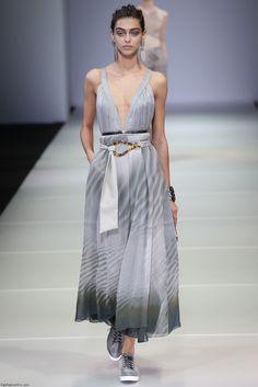 Giorgio Armani spring/summer 2015 collection - Milan fashion week