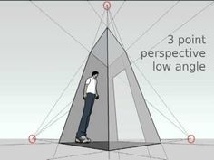 1, 2 & 3 Point Perspective - great perspective aid! @wongshuyee