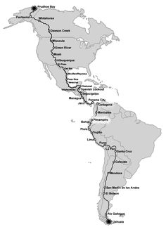 How cool would it be to travel from the top of Alaska to the bottom of Argentina? Changing Gears is an incredible memoir by Nancy Sathre-Vogel Travel Route, Travel List, Places To Travel, Road Trip Usa, Road Trip Adventure, Road Trippin, End Of The World, Worlds Of Fun, Oh The Places You'll Go