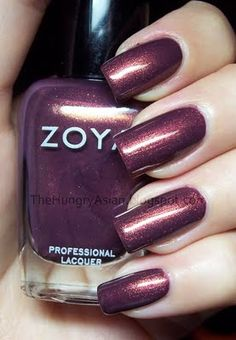 Zoya Anastasia (The nail polish version of MAC's eye shadow in Trax. One of my faves!!)