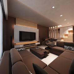 Living Room Design by Artier