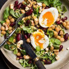 🍴Fazolový salát recept – rychle, zdravě a jednoduše 🍴 Jimezdrave.cz Cobb Salad
