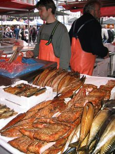 Bergen, Norway -  Norway is expensive for food, one of the best kept secret is to have lunch at the fish market at the harbour - from crabs, to whale sandwiches..