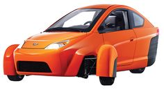 Elio Motors plans to take on the big automakers with a three-wheeled vehicle that gets 84 miles per gallon