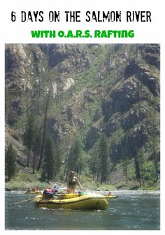 Main Salmon River rafting trip with O.A.R.S.