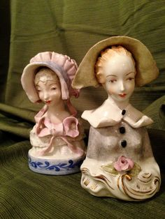 Two Cordey 1940's Victorian Bust Porcelain by NewLife4OldTreasures