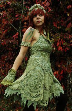 fairy pirate bohemian rococo style romantic crochet by linusmanus, €30.00