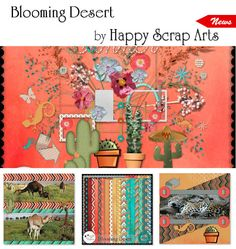 """Blooming Desert from Happy Scrap Arts at From France available on a 20% off Sale! Don't miss to """"subscribe to the designer"""" to follow all the releases of your favorite designer (click on the left button ...near """"add to cart""""). Blooming Desert; http://scrapfromfrance.fr/shop/index.php?main_page=product_info&cPath=88_250&products_id=10453. 08/19/2015"""