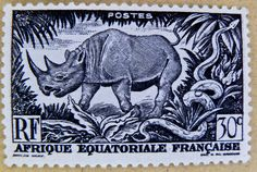 french stamp Afrique Equatoriale Francaise