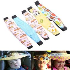 Popular Safety Car Seat Sleep Nap Aid Baby Kids Head Support Holder Belt CA ED #Unbranded