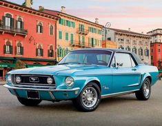 2015 Promotional Calendars - Classic Cars Vintage Car Calendar - May 1968 Ford Mustang — at http://www.promocalendarsdirect.com/calendars/classic-cars.