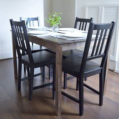 Ingo Ikea Dining Table #IkeaHack https://clarimichele.com/2016/06/13/home-tour/