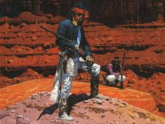 Jean Giraud, Moebius, passed away today. He was, arguably, one of the most influential artist of our time and a personal inspiration of mine. The first time I encountered Jean Giraud's work w… Jean Giraud Moebius, Moebius Art, Roger Duvoisin, Ex Libris, Critique Film, 70s Sci Fi Art, Western Comics, Western Art, Chef D Oeuvre