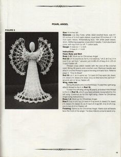 Angel   Free Crochet Pattern http://www.knitting-crochet.com/crochet/ang.html