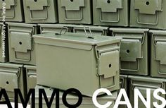 New Mil. Spec. M2A1 .50cal Ammo Cans