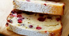 This Easy Cranberry Cake Is The Perfect Holiday Treat! Passes For Both Breakfast And Dessert!