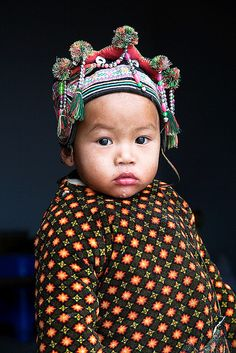 A little chinese costume baby