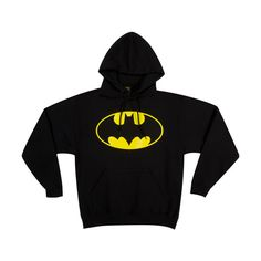 Logo Batman Hoodie ($45) ❤ liked on Polyvore
