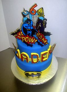 Jaden's 6th B-Day Batman Cake