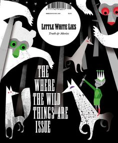 Little White Lies cover in children illustration-style.