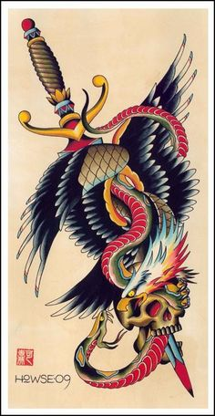 tatuagem traditional skull - Pesquisa Google