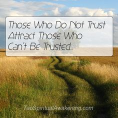 spirituality quotes | Spiritual Quotes – Trust and Attraction