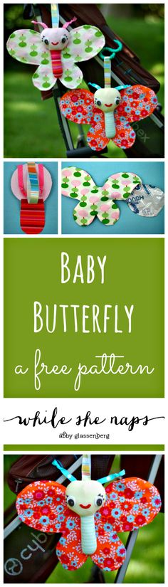 A free pattern for Baby Butterflies