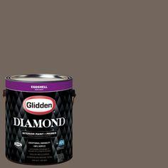 Glidden Diamond 1 gal. #HDGWN26 Monterey Cliffs Eggshell Interior Paint with Primer