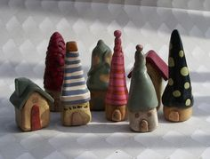 Wee Village Houses   Here are some of the houses I've made -…   Flickr