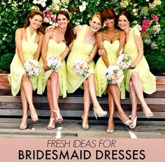 How To Choose Wedding Party Dresses That Won't Make Your Bridesmaids Hate You