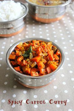 Carrot Fry | Spicy Carrot Curry | Masala Carrot Palya