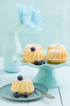 Mini bundt cakes by foodphotolove on Creative Market