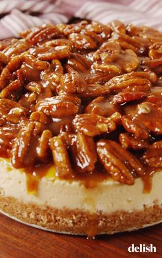 These best pecan pie recipes will have all of your Thanksgiving guests asking for seconds! We've got lots of easy pecan pie recipes to make right here, including ones with chocolate, bourbon, and bananas. Pie Recipes, Baking Recipes, Dessert Recipes, Cheese Recipes, Dessert Ideas, Chicken Recipes, Just Desserts, Delicious Desserts, Snacks