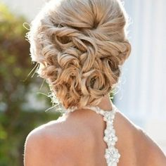 also really like this one.  #weddinghairstyle #hair #bridesmaid