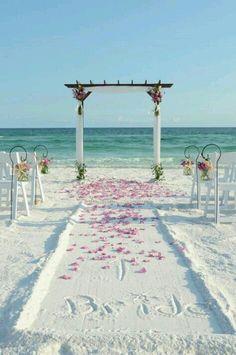 un escenario idílico para casarse   boda en la playa