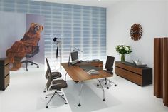 Ad Hoc Executive Work Station  Contact Sarah Bartolomei for more information: Sarah.Bartolomei@vitra.com