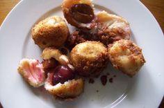 Plum dumplings Recipe on Yummy Snacks, Delicious Desserts, Dessert Recipes, Yummy Food, Austrian Recipes, Serbian Recipes, Plum Recipes, Sweet Recipes, Yummy Recipes