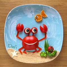Tomato crab by @dufi77