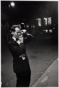 """#WednesdayWisdom from Robert Frank: """"The eye should learn to listen before it looks."""""""