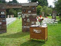 outdoor wedding chapel...too creative not to pin
