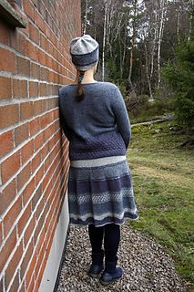 Ravelry: Frost skjørt/ Frost skirt pattern by Hilde Helgedatter Drops Delight, Frost, Ravelry, Tweed, Knitwear, Skirts, Pattern, Blog, Design