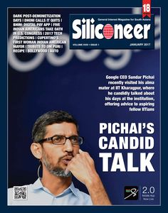 Siliconeer January 2017 Magazine Click Here to read the latest print issue of Siliconeer. Enjoy and share! http://siliconeer.com/current/siliconeer-current-e-magazine/