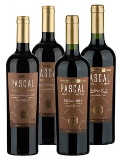 Pascal Winery Sampler-Our members love these wines! Coming directly from the birthplace of wine in Chile, Pascal's Winery's Cabernet Sauvignon and Malbec are exactly what you want out of Chilean wines. If you're not familiar with the region, these rich, luscious reds are the perfect introduction to some of the country's most popular styles.