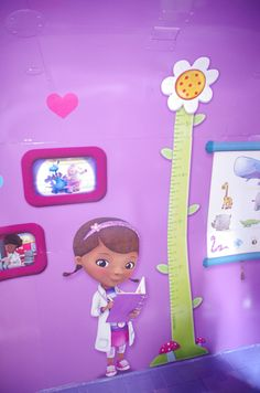Disney DOC McSTUFFINS Craft Buttons 1ST CLASS POST Dottie Hospital Get Well Soon
