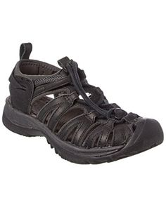 KEEN Womens Whisper Leather Sandal BlackRaven 85 M US ** This is an Amazon Affiliate link. Read more at the image link.