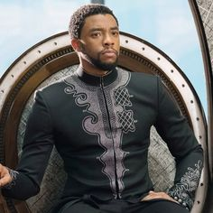 African Clothing For Men, African Shirts, African Men, African Attire, African Dress, Black Panthers, Black Actors, Black Celebrities, Celebs