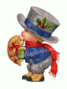 Nepotul lui Mos Craciun Cod produs: 11.70 Stoc: Pe stoc Culori: 33 Dimensiune: 18 x 24 cm Detalii Produs La setul imprimat dimensiunile sunt de aproximativ 18 x 24 cm. Modelul are diagrama A3 cu semne mari (60 x 90 puncte/A3). Teddy Bear, Toys, Animals, Animales, Animaux, Gaming, Games, Toy, Animais