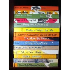 Would love to re~read this series that's now out of print~~The Beany Malone Series :: Lenora Mattingly Weber